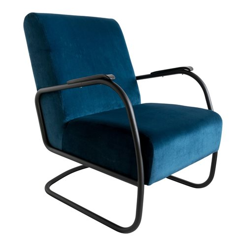 Spinder Design Retro Sessel - Juke Blue