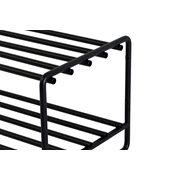 Spinder Design Clint Shoe Rack - Black