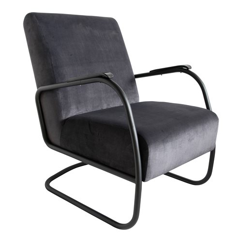 Spinder Design Retro Easy-Chair - Antracite