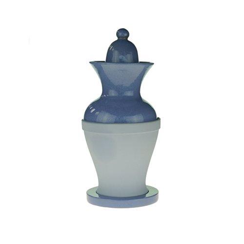 Belforte iMing Impero Geurverstuiver met Bloempot 170 ml - Lichtblauw