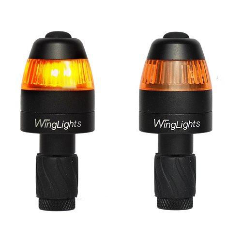 CYCL WingLights Magnetisch v3 - LED Lichter für Fahrräder - Schwarz