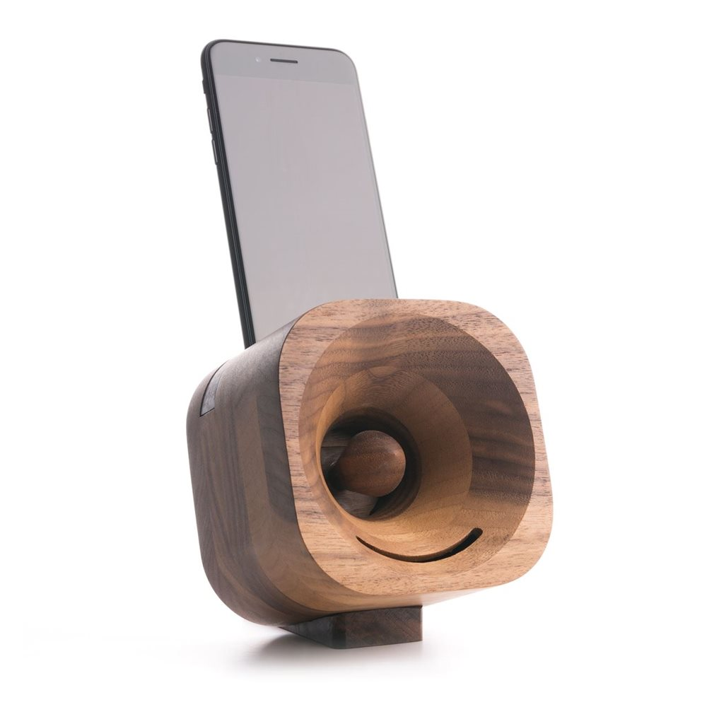 Trobla Houten Versterker - iPhone X/iPhone XS - Walnoot