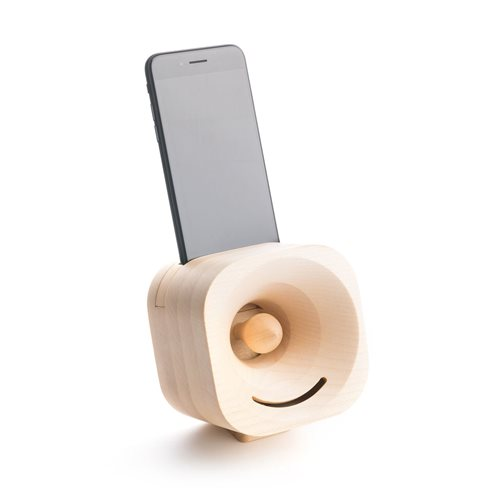 Trobla Wooden Amplifier - iPhone X/iPhone XS - Maple
