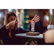 FLYTE Nikola 1.0 Zwevende Tafellamp - Walnoot / Chrome