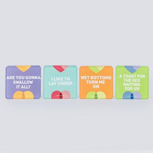 Lovelanders Home Glass Coasters set 1