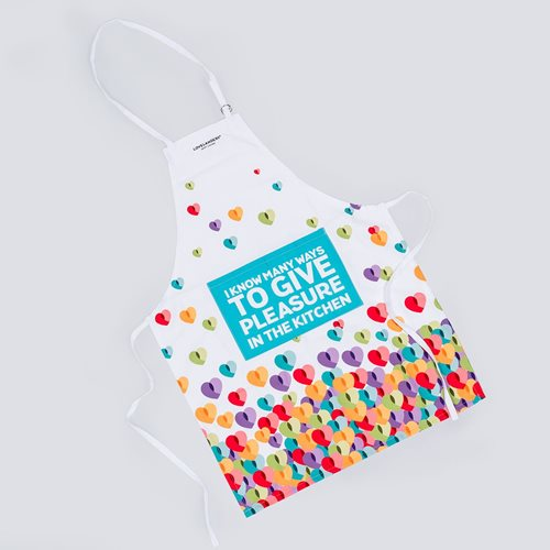 Lovelanders Kitchen Apron with Front Pocket