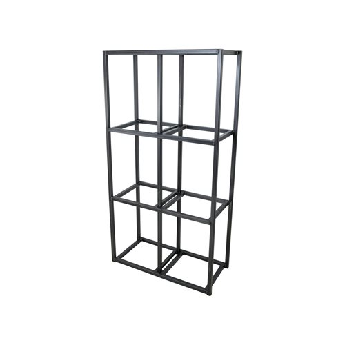 Spinder Design Tampa 2 Wall rack with 6 Compartments - Blacksmith