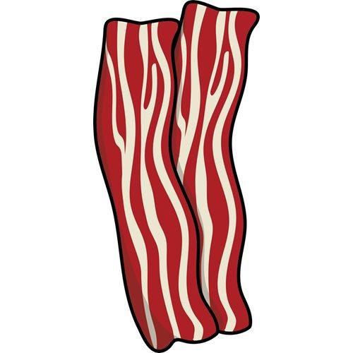 Giggle Beaver Bacon - Tea Towel