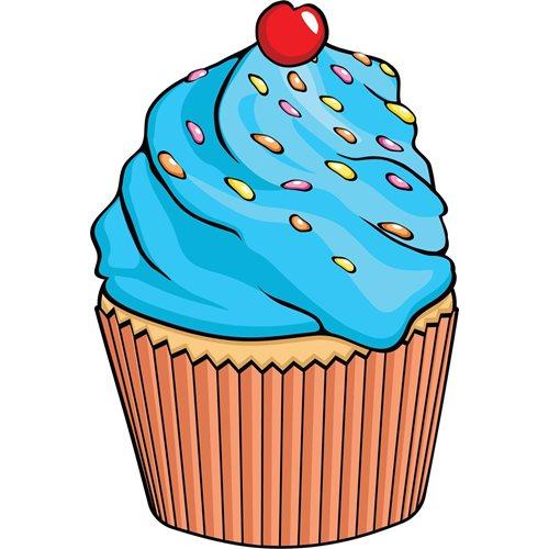 Giggle Beaver Cupcake - Thee- en keukendoek - 65x43 cm