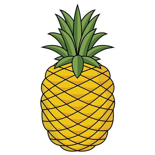 Giggle Beaver Pineapple - Tea Towel