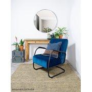 Spinder Design Donna 5 Spiegel Rond ø 90x5 - Zwart