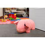 Walplus Ferkel - Türstopper - Kinderzimmer - Rosa - 27x14x13 cm