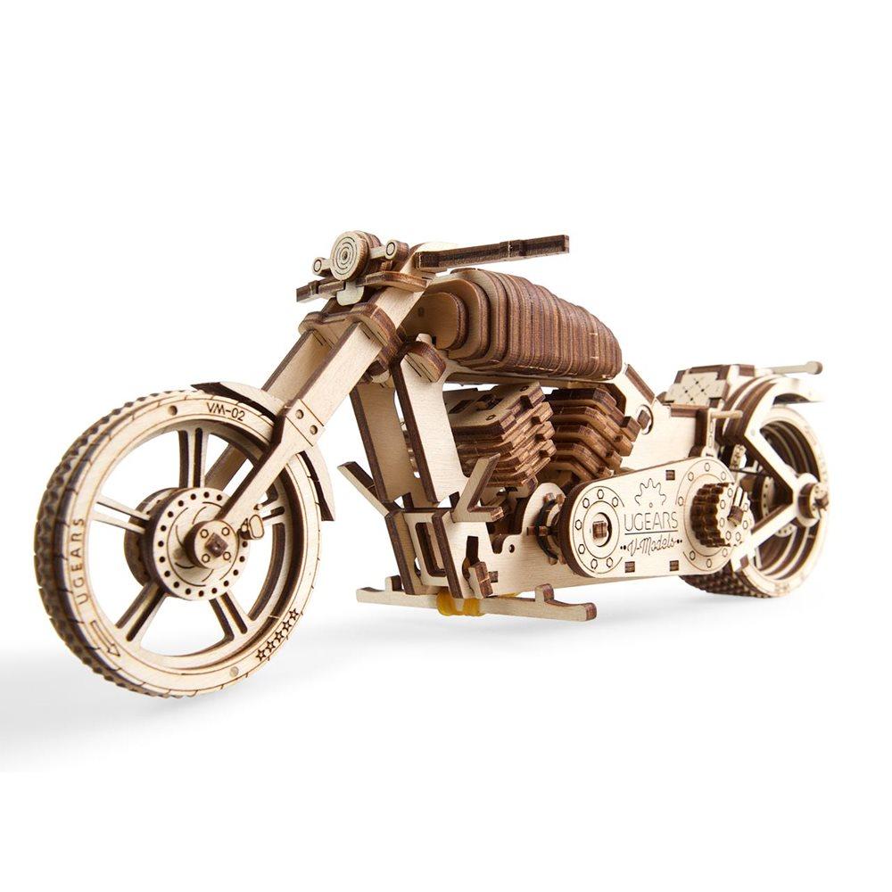 Ugears Wooden Model Kit - Motorcycle VM-02