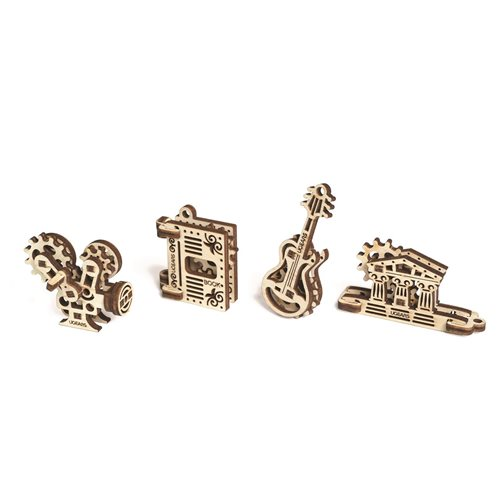 Ugears Wooden U-Fidget Key Chains -  Creation