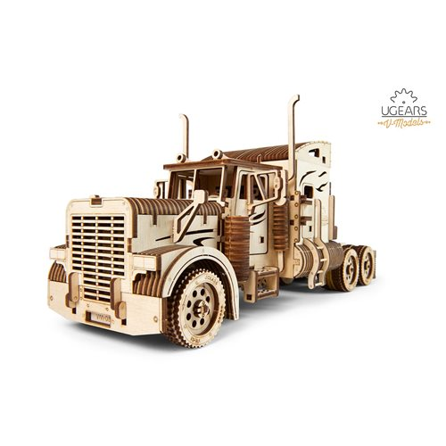 Ugears Wooden Model Kit - Heavy Boy Truck VM-03