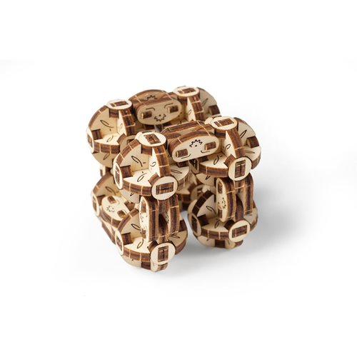Ugears Wooden Model Kit - Flexi Cube