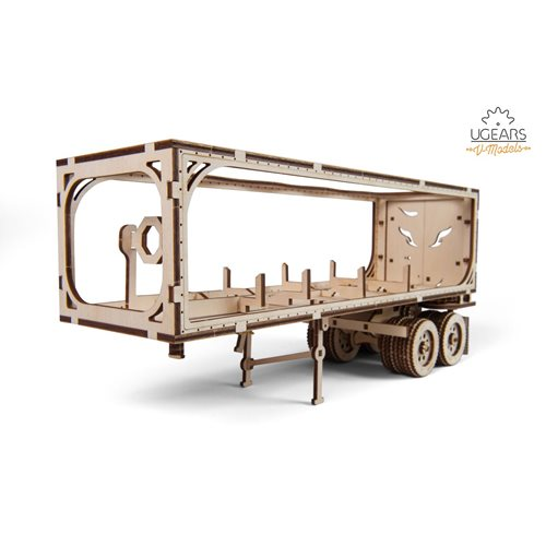 Ugears Wooden Model Kit - Heavy Boy Truck Trailer VM-03