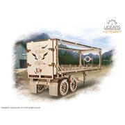 Ugears Wooden Model Kit - Heavy Boy Truck Trailer VM-03