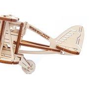 Wooden City Biplane - Wooden Model Kit