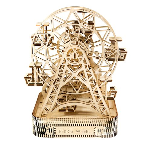 Wooden City Ferris Wheel - Wooden Model Kit