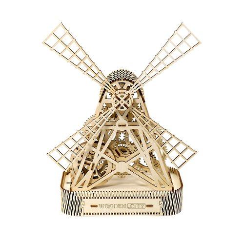 Wooden City Molen - Houten Modelbouw