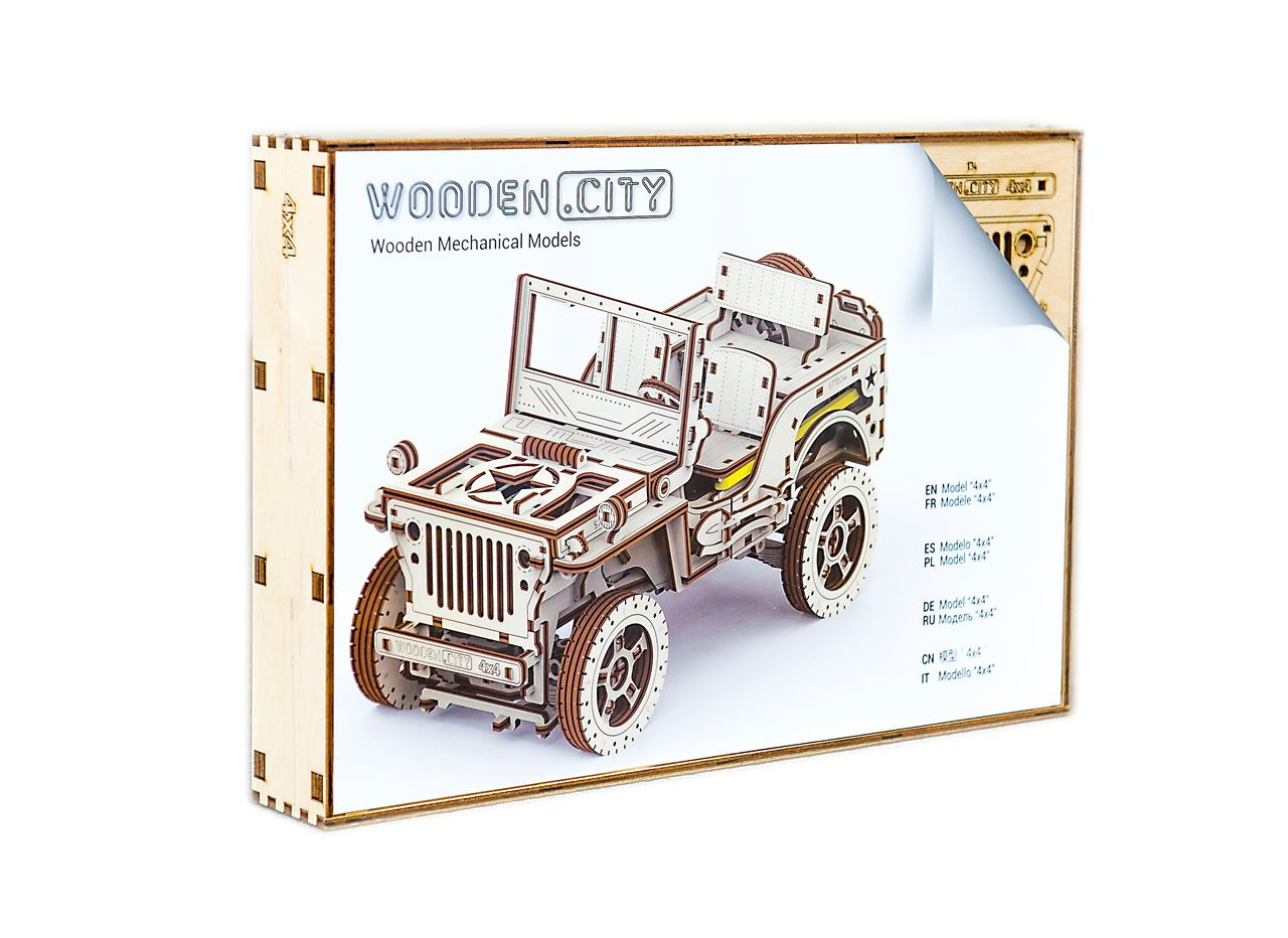 Channel Distribution - Gifts en Gadgets - Wooden City 4x4