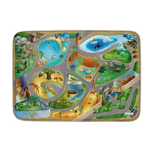 ACHOKA Play mat Zoo - Ultra Soft Connect