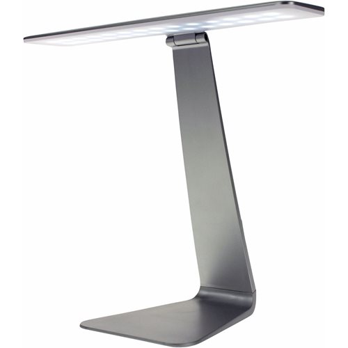United Entertainment LED Desk Lamp with Touch Control - Silver
