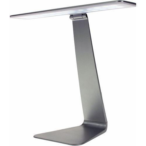 United Entertainment LED Schreibtischlampe mit Touch Control - Silber