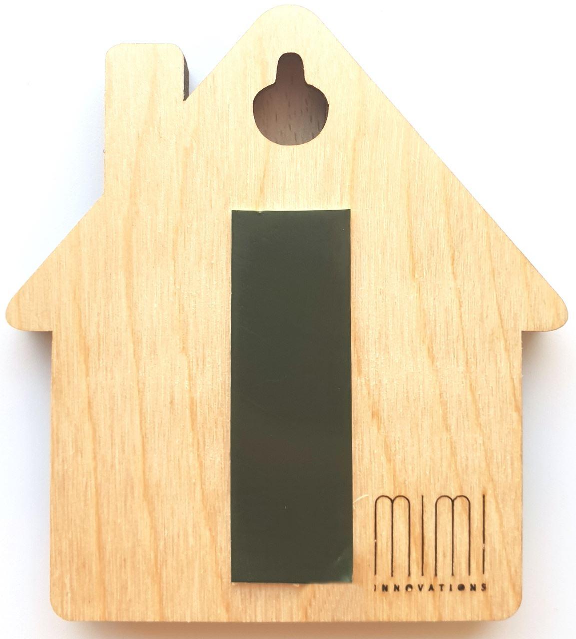 Familie mit Sohn MiMi Schl/üsselbrett aus Holz mit Set Schl/üsselanh/änger