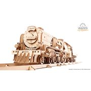 Ugears Wooden Model Kit - V-Express Steam Train with Tender