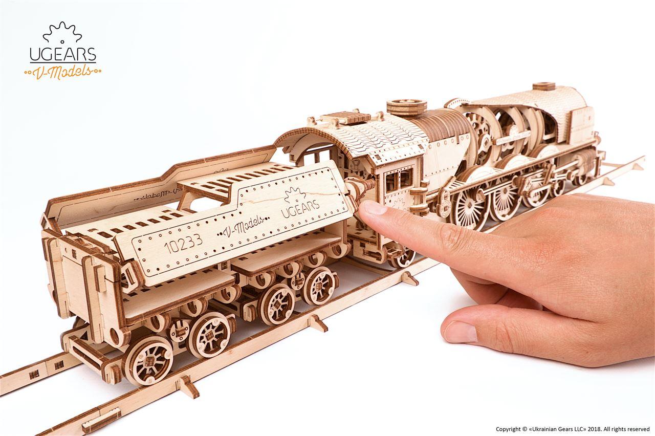 Channel Distribution Gifts En Gadgets Ugears Wooden Model Kit