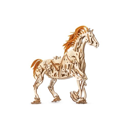 Ugears Holzbausatz - Mechanisches Pferd