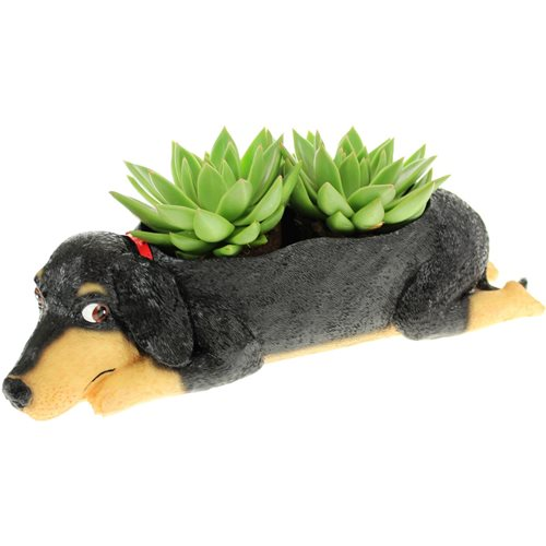 Rotary Hero Flower Pot - Dog