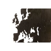MiMi Innovations Luxury Wooden World Map - Wall Decoration - 180x108 cm/70.9x42.5 inch - Black