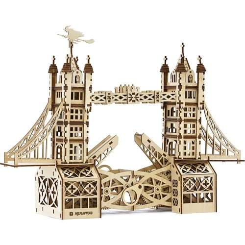 Mr. PlayWood Tower Bridge - Wooden Model Kit
