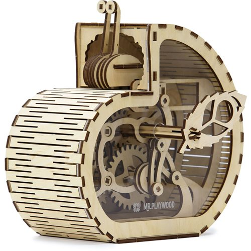 Mr. PlayWood Snail Moneybox - Wooden Model Kit