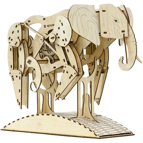 Mr. PlayWood Elephant - Wooden Model Kit