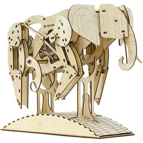 Mr.PlayWood Elephant - Wooden Model Kit