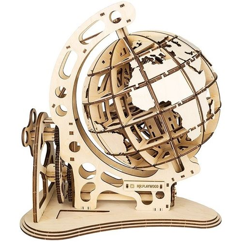 Mr. PlayWood Globe - Wooden Model Kit
