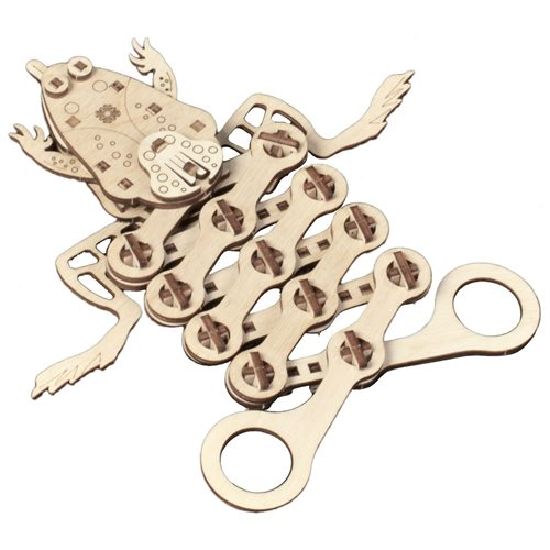 Mr. PlayWood Frog - Wooden Model Kit