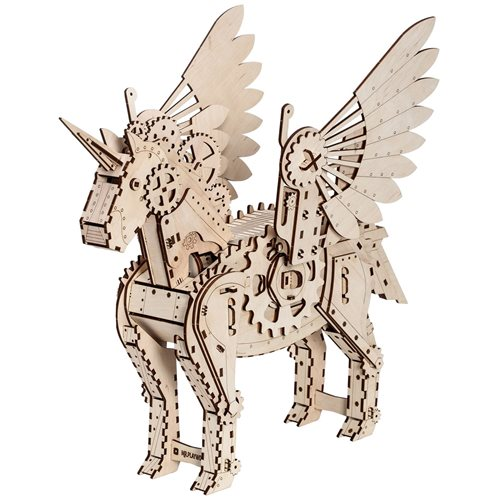 Mr. PlayWood Unicorn - Wooden Model Kit