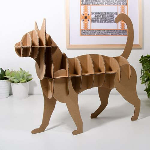 Milimetrado - Cardboard Cat - Decorative Rack