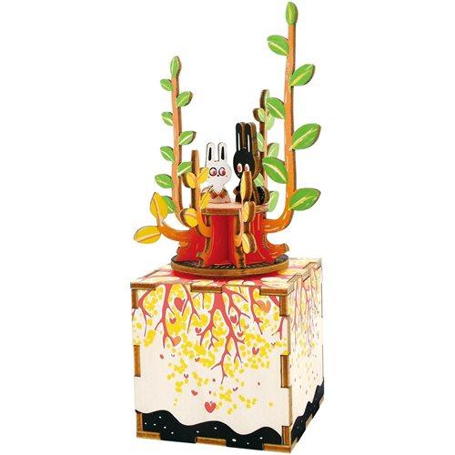 Robotime Frühling AM302 - Holzmodellbau - Spieluhr - DIY
