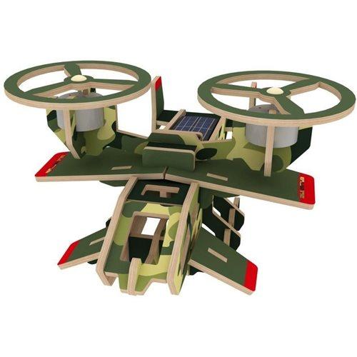 Robotime Samson P350S Solar - Wooden Model Kit - Paper Coating