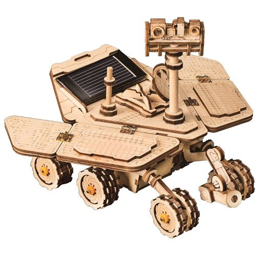 Robotime Opportunity Rover Solar LS503 - Wooden Model Kit - DIY
