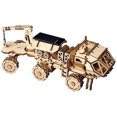 Robotime Hermes Rover Solar LS504 - Wooden Model Kit - DIY