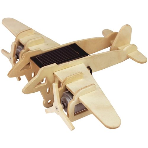 Robotime Bomber Aircraft Solar P330 - Wooden Model Kit