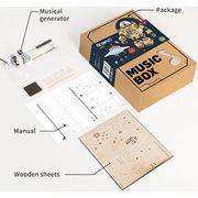 Robotime Orpheus AM601 - Wooden Model Kit - Music Box - Steampunk - DIY
