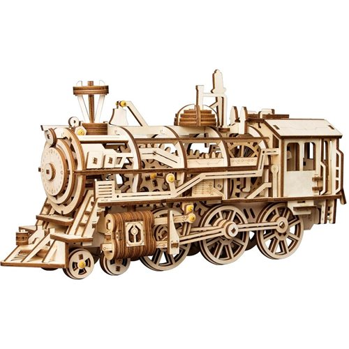 Robotime Locomotive LK701 - Wooden Model Kit